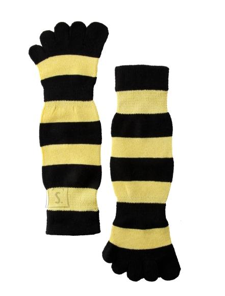 Sokisahtel ESTELLO kollase-mustatriibulised varvassokid