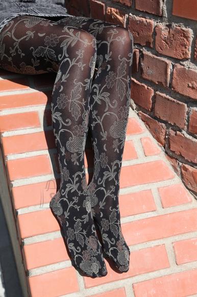 Sokisahtel DAISY mustad 60DEN sukkpüksid naistele