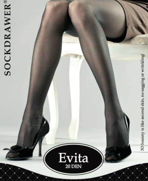 Sokisahtel EVITA 3D nahavärvi sukkpüksid 2XL