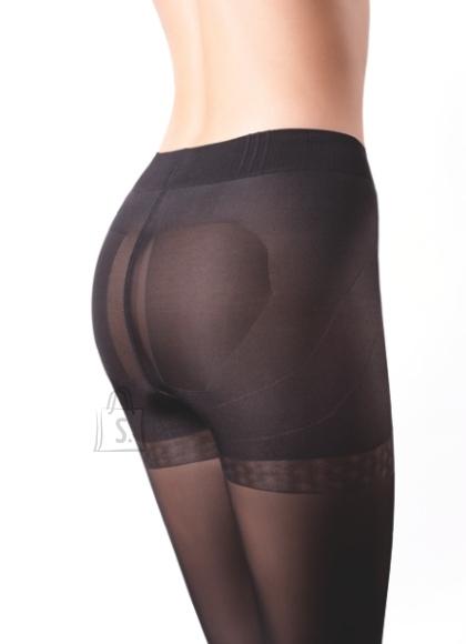 Sokisahtel MICRO PUSH UP 50DEN mustad sukkpüksid XL
