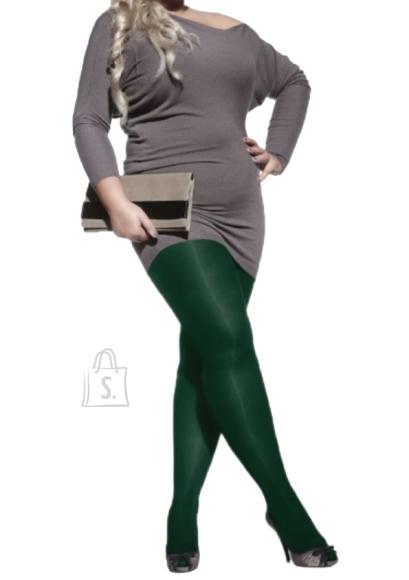 Sokisahtel PLUS 60DEN rohelised naiste mikrofiibrist sukkpüksid 3XL