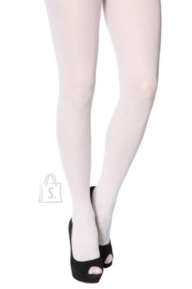 Sokisahtel ECOCARE valged 3D 40DEN recycled naiste sukkpüksid L/XL