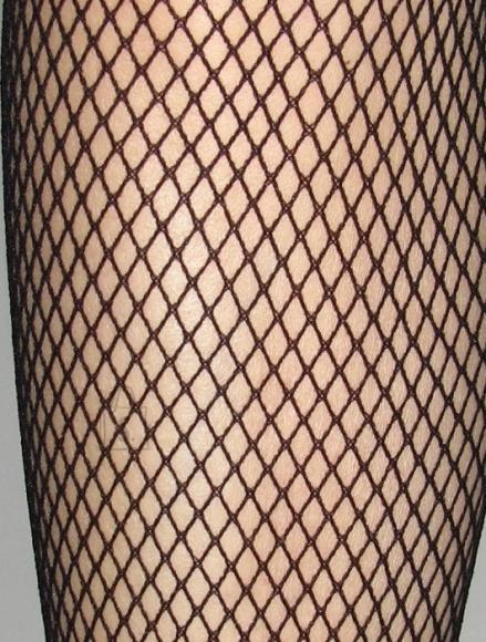 Sokisahtel RETE mustad võrksukkpüksid naistele XL