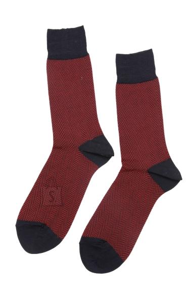 Sokisahtel HERBERT meeste punased ülikonnasokid 40-42
