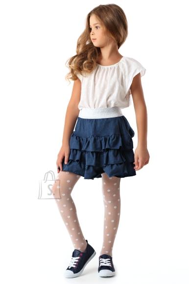 Sokisahtel DOTS tüdrukute 20DEN valged sukkpüksid 122-128