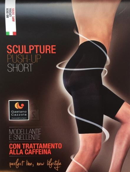 Sokisahtel Gaetano Cazzola ROSA 80DEN beežid push-up põlveni püksid 2XL