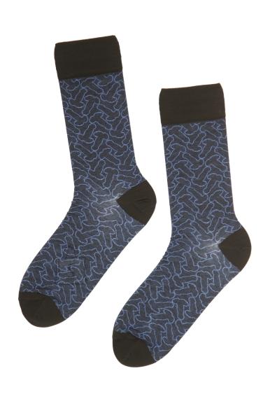 Sokisahtel DODO sinised sokid meestele - alla 18 keelatud! 40-42