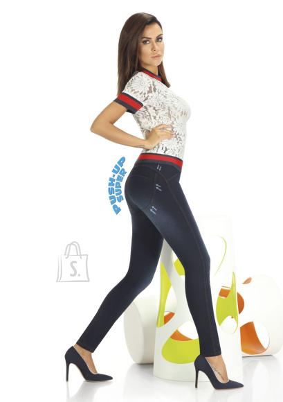 Sokisahtel MADDIE 300DEN teksaimitatsiooniga naiste retuusid XL