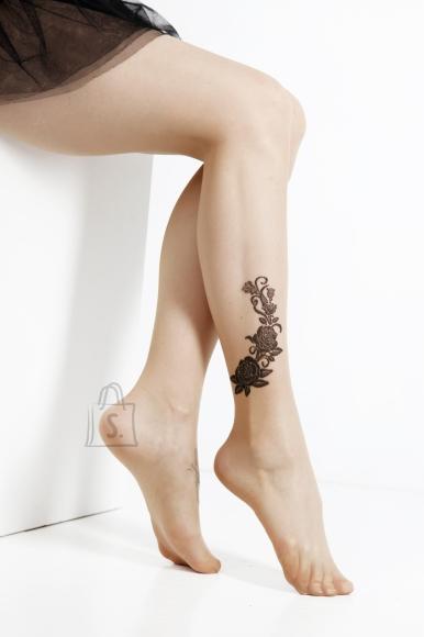 Sokisahtel RITA 20DEN nahatooni sukkpüksid naistele S/M
