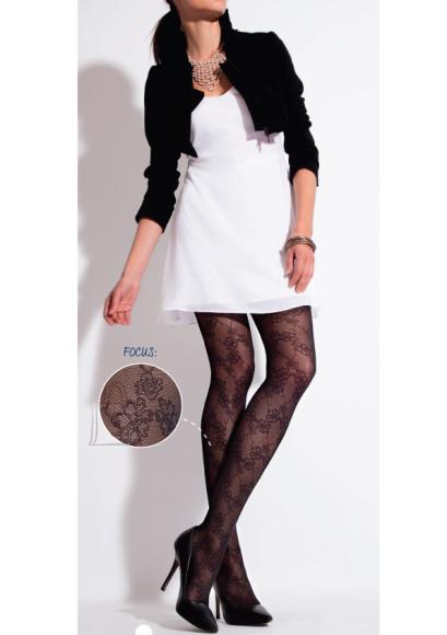 Sokisahtel BIBIANE naiste 60DEN mustad sukkpüksid L/XL
