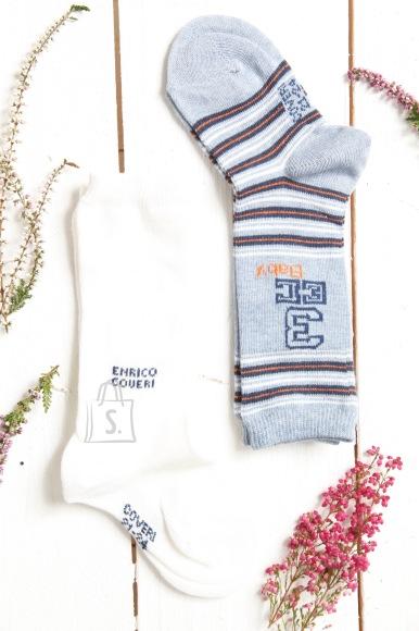 Sokisahtel HOVERI beebipoiste triibulised põlvikud 2 paari pakis 6-12 months