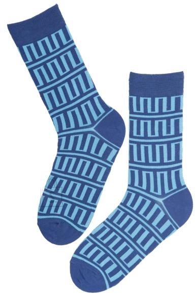 Sokisahtel JOONAS sinised puuvillased sokid meestele 40-45