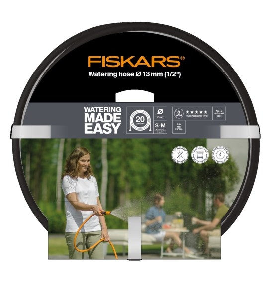 """Fiskars kastmisvoolik Q5, 13mm (1/2"""") 20m"""