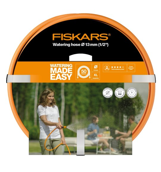 """Fiskars kastmisvoolik Q4, 13mm (1/2"""") 50m"""