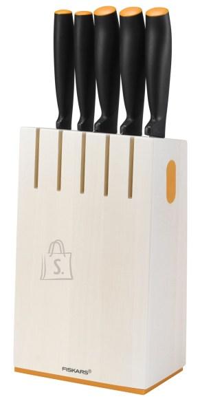 Fiskars Functional Form 5-osaline nugade komplekt valges hoidikus