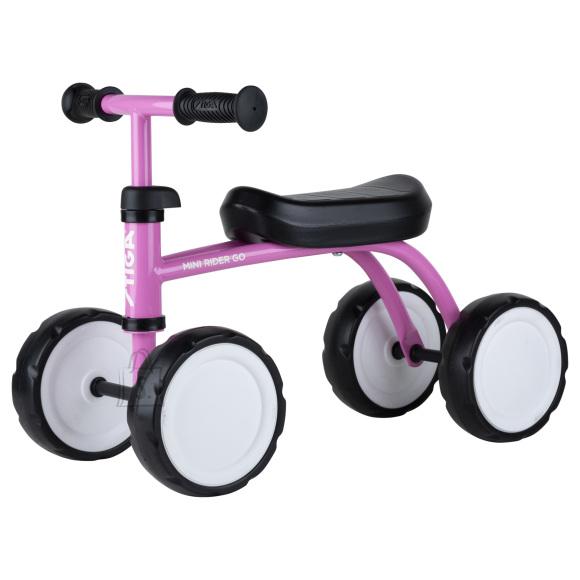 Stiga Tasakaaluratas Mini Rider Go roosa