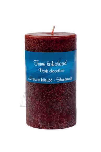 Võhma Valguse Vabrik Käsitöö lõhnaküünal Tume šokolaad 7x12cm, 65h