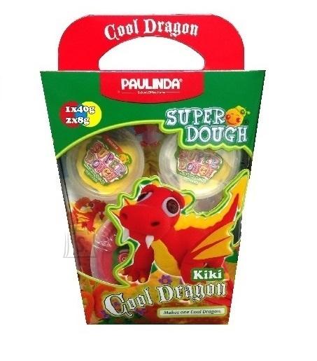 Paulinda voolimiskomplekt Super Dough Lahe Draakon Kiki