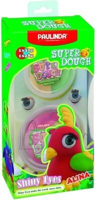 Paulinda voolimiskomplekt Super Dough Särasilmne Papagoi Alina