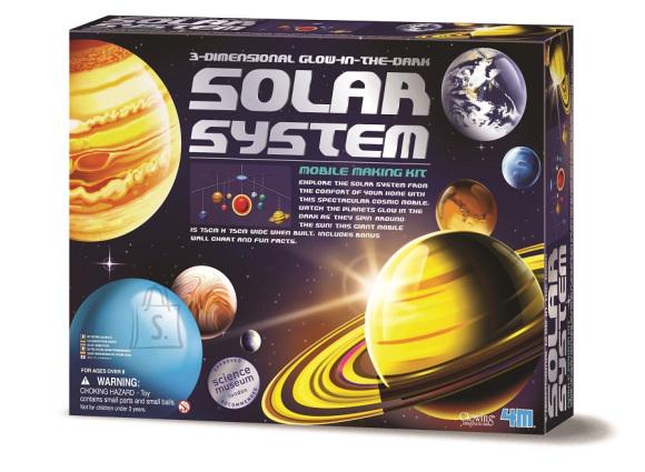 4M 3D päikesesüsteemi valmistamise mängukomplekt
