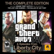 2K Games PlayStation 3 mäng Grand Theft Auto IV: The Complete Ed.