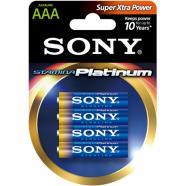 Sony 4 x AAA patareid Stamina Platinum