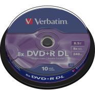 Verbatim DVD+R Dual Layer toorikud 8.5 GB 10 tk