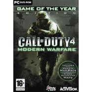 Activision Blizzard Arvutimäng Call of Duty 4: Modern Warfare Game of The Year Edition