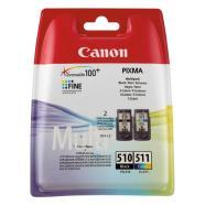 Canon tindikassettide komplekt PG-510 / CL-511