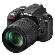 Nikon peegelkaamera DSLR  D3300&18-105mm VR, must