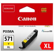 Canon tindikassett CLI-571XL (kollane)