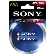 Sony patareid 2 x AAA Stamina Plus