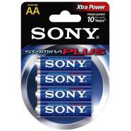 Sony 4 x AA patareid Stamina Plus