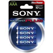 Sony 4 x AAA patareid Stamina Plus