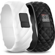 Garmin aktiivsusmonitor Vivofit 3 musta ja valge rihmaga