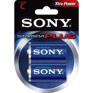 Sony 2 x C/LR14 patarei Stamina Plus