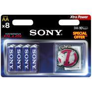 Sony AM3B8D-PROMO 8 x AA patarei Alkaline