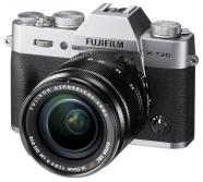 Fuji X-T20KITSILVER hübriidkaamera Fujifilm X-T20 + objektiiv XC 16-50 mm