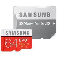 Samsung Micro SDHC mälukaart + adapter EVO+ 64 GB