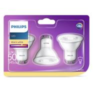 Philips 3 x LED pirn GU10, 50W, 345 lm