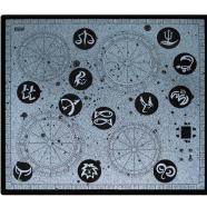Hansa keraamiline pliidiplaat sodiaagi disainiga