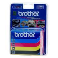 Brother LC-900BK/C/M/Y tindikassettide komplekt
