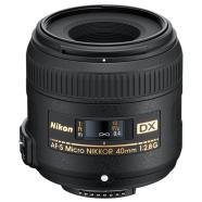 Nikon Objektiiv AF-S DX Micro-NIKKOR 40 mm f/2.8 G, Nikon