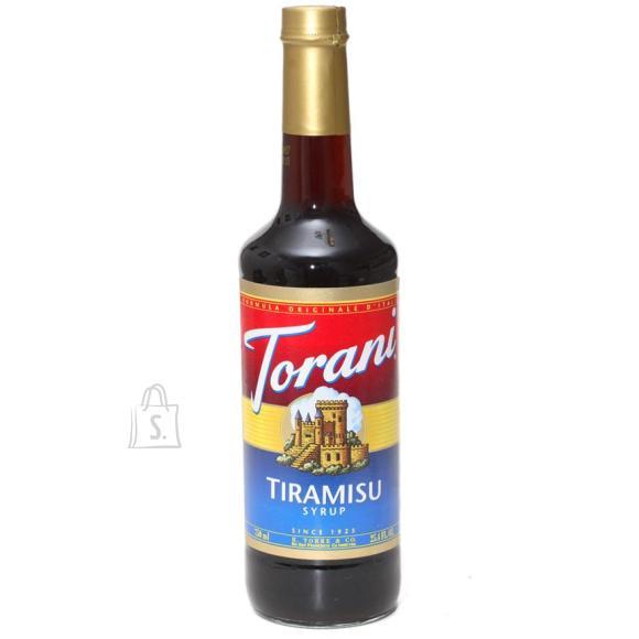 Jura Maitsesiirup Tiramisu 750ml, Torani