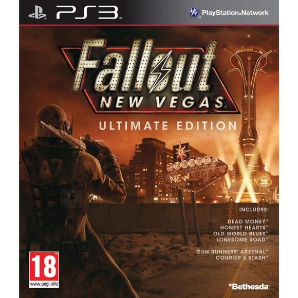 Bethesda PlayStation 3 mäng Fallout: New Vegas Ultimate Edition