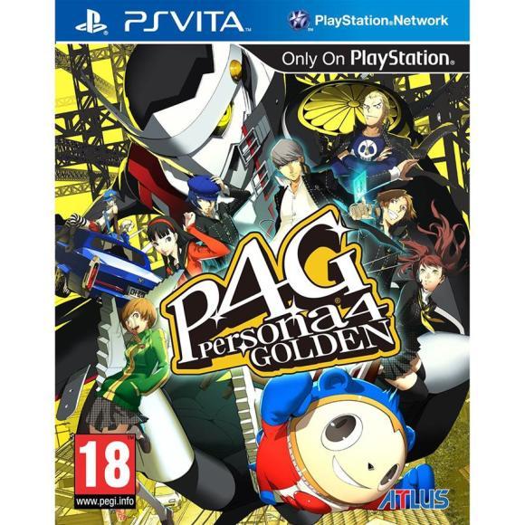 PlayStation Vita mäng Persona 4: Golden