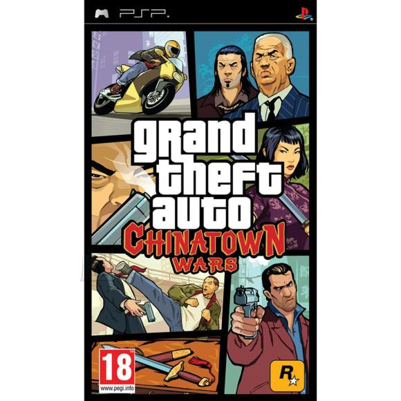 2K Games PlayStation Portable mäng Grand Theft Auto: Chinatown Wars