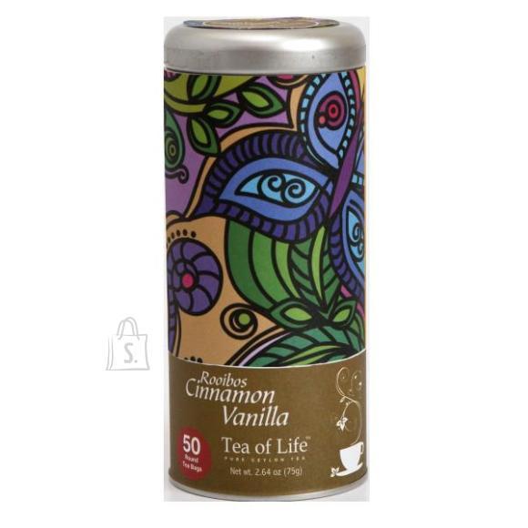 Tea of Life teepadjad Rooibos Cinnamon Vanilla