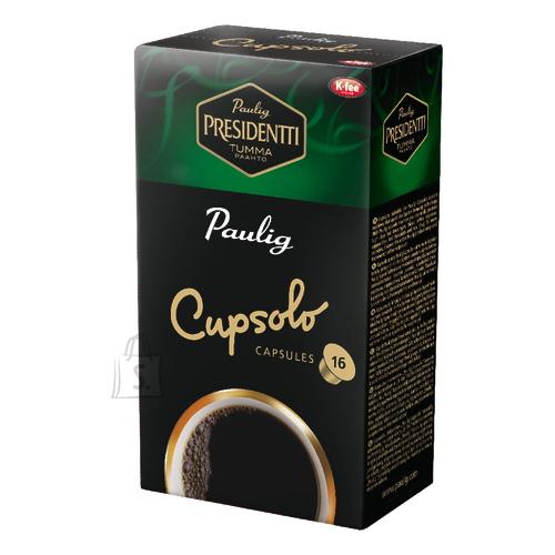 Paulig kohvikapslid Presidentti Cupsolo
