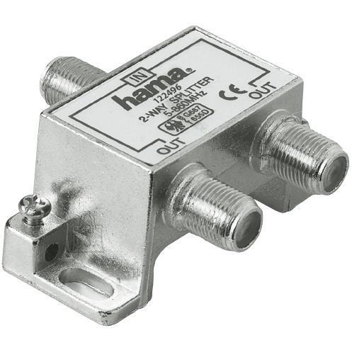 Hama Antennikaabli harupesa F --> 2 x F Hama